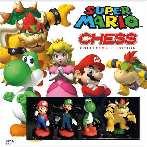 Super Mario Chess Collector+�s Edition By Usaopoly (COR)
